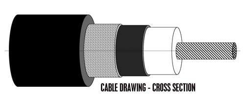 Cable Drawing Cross Section