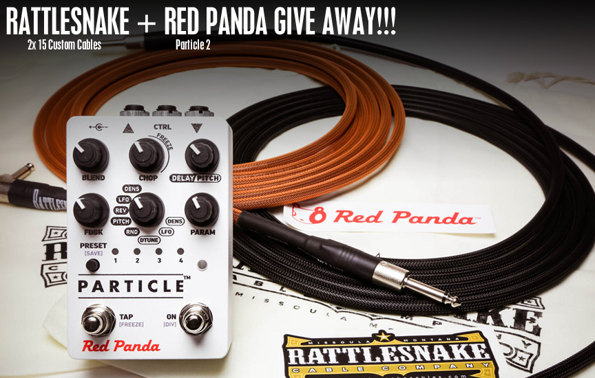 Rattlesnake Cable Company / Red Panda Labs Give Away