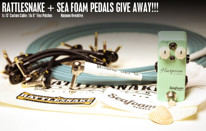 Rattlesnake Cable Company / Seafoam Pedals Give Away