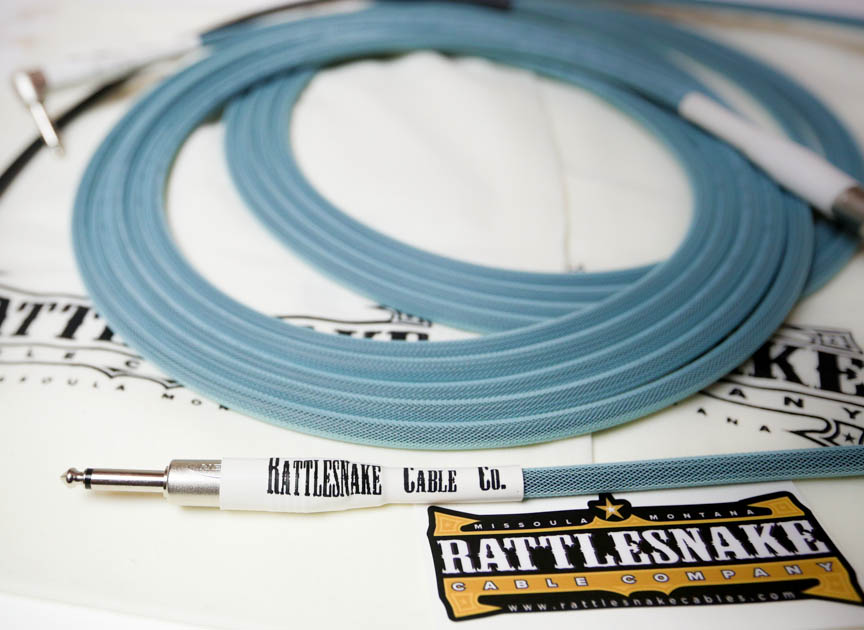 Limited Run of Retro Sea Foam Standard Cables   Rattlesnake Cable ...